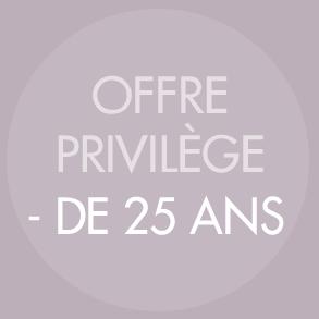 Offre - de 25 ans Dessange Arlon