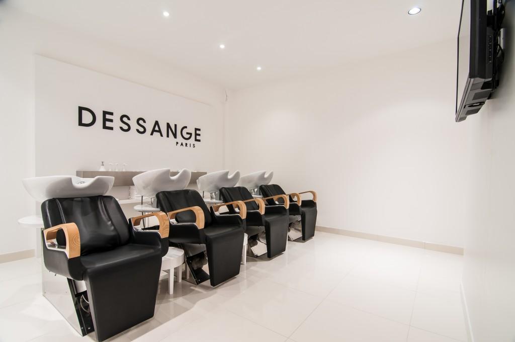 Les bacs à shampooing - Dessange Châteauroux