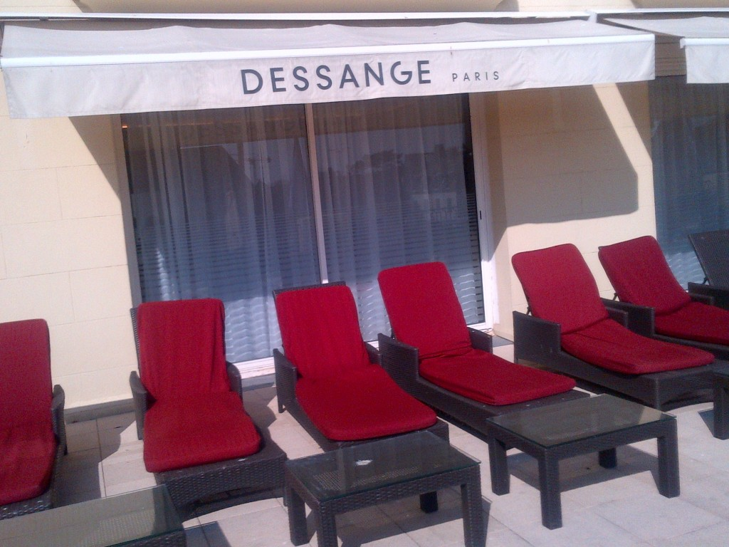 Le salon de coiffure à Deauville - Dessange
