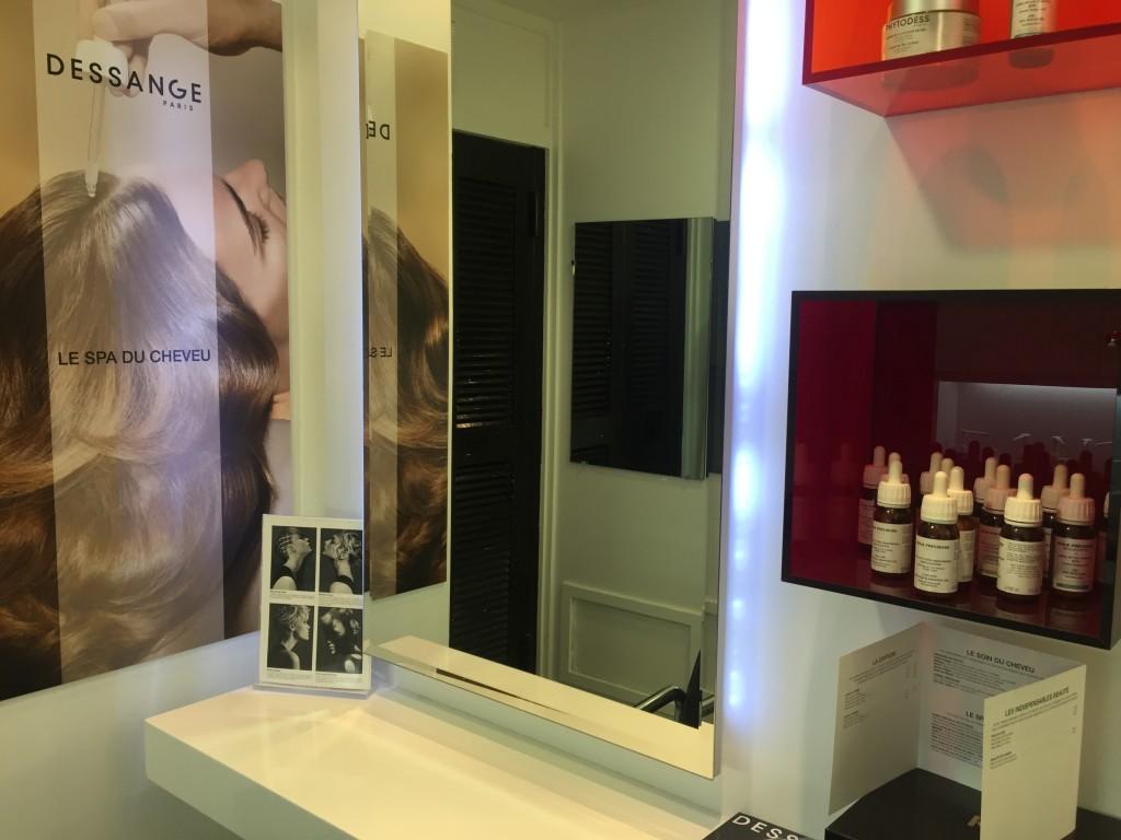 Spa du cheveu - Dessange Limoges