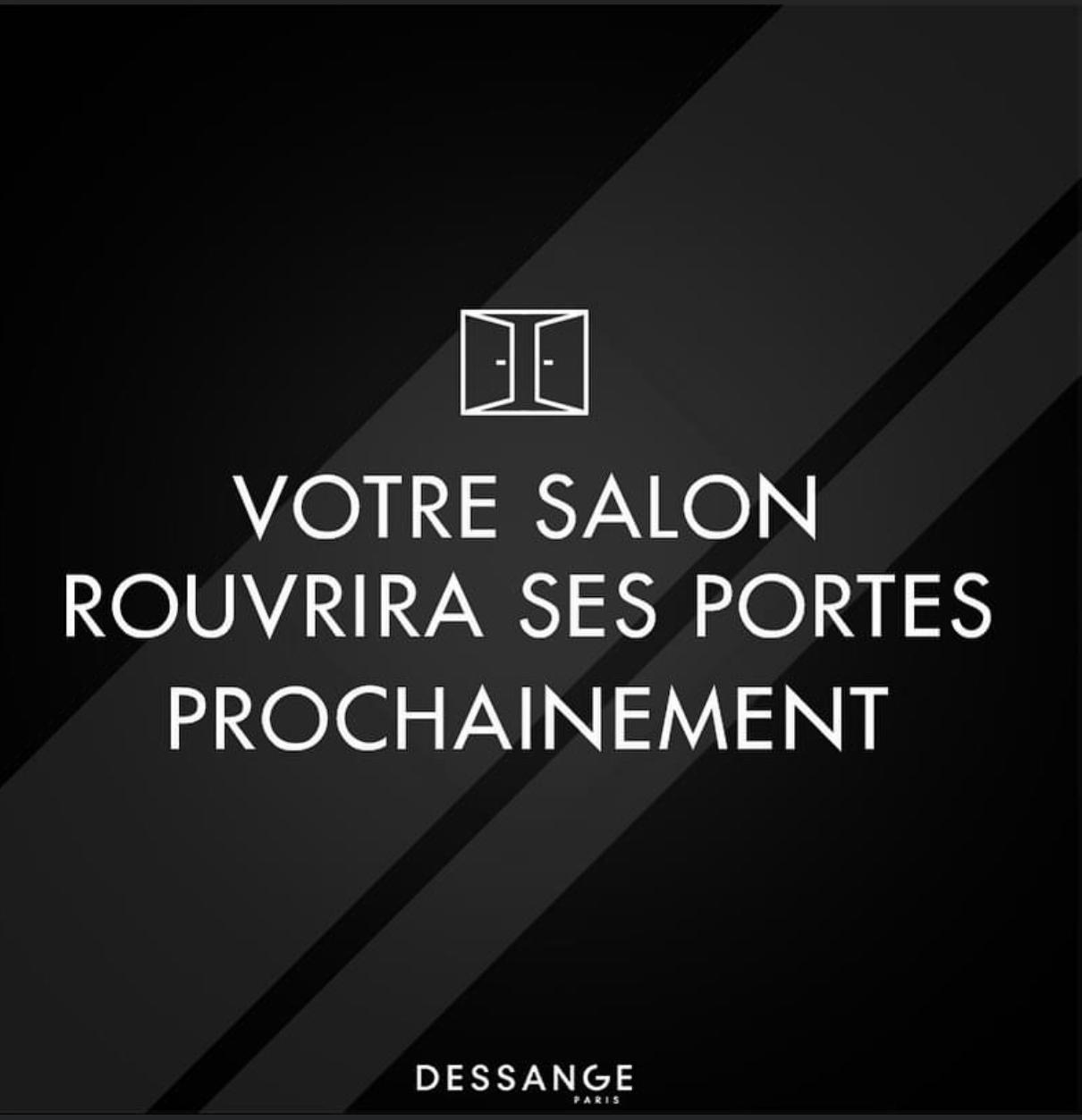 Réouverture salon Dessange Marseille Vieux Port