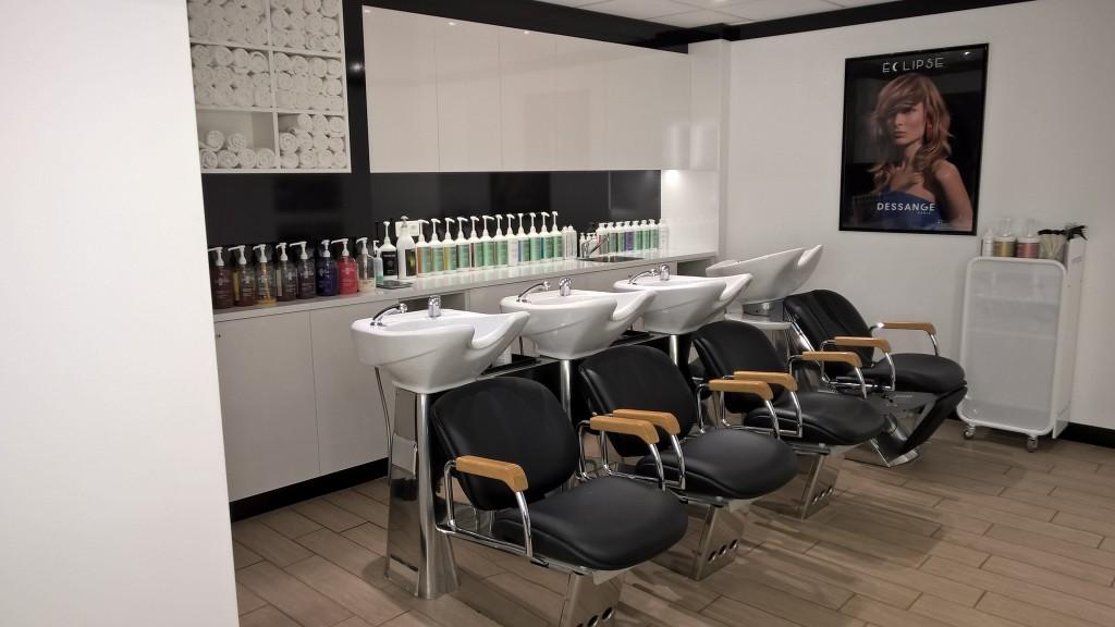 Les bacs à shampooing - Dessange Mont de Marsan