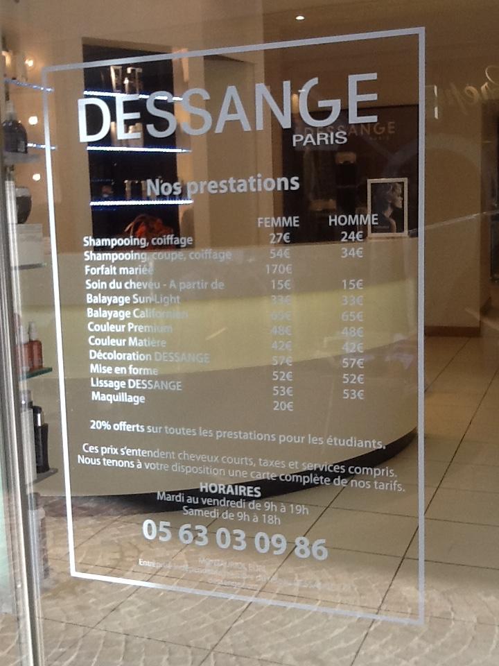 Salon de coiffure Montauban - DESSANGE