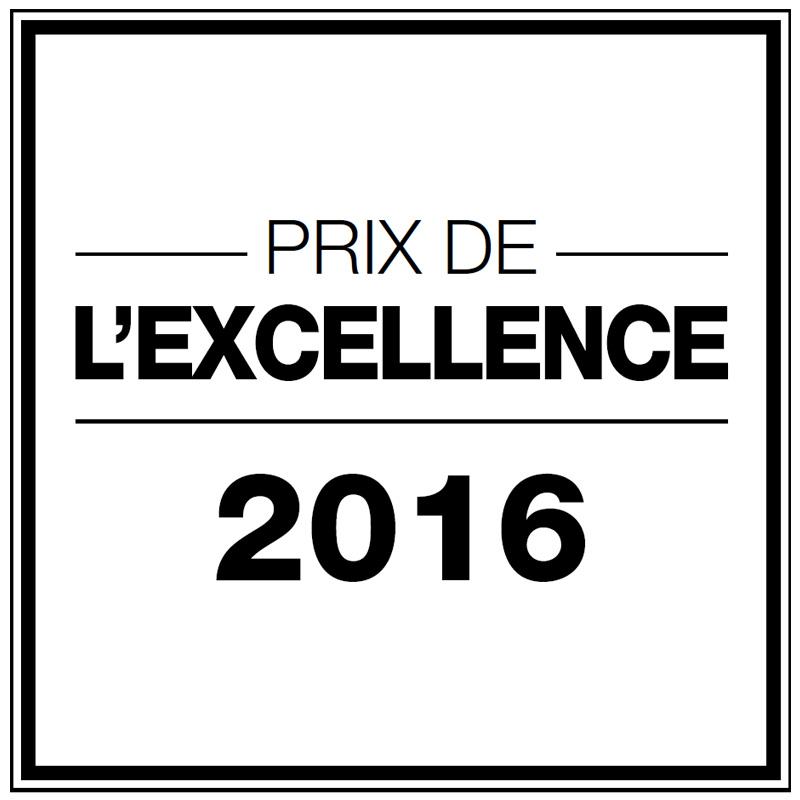 Prix de l'excellence 2016 salon de coiffure Dessange Neuilly sur Seine