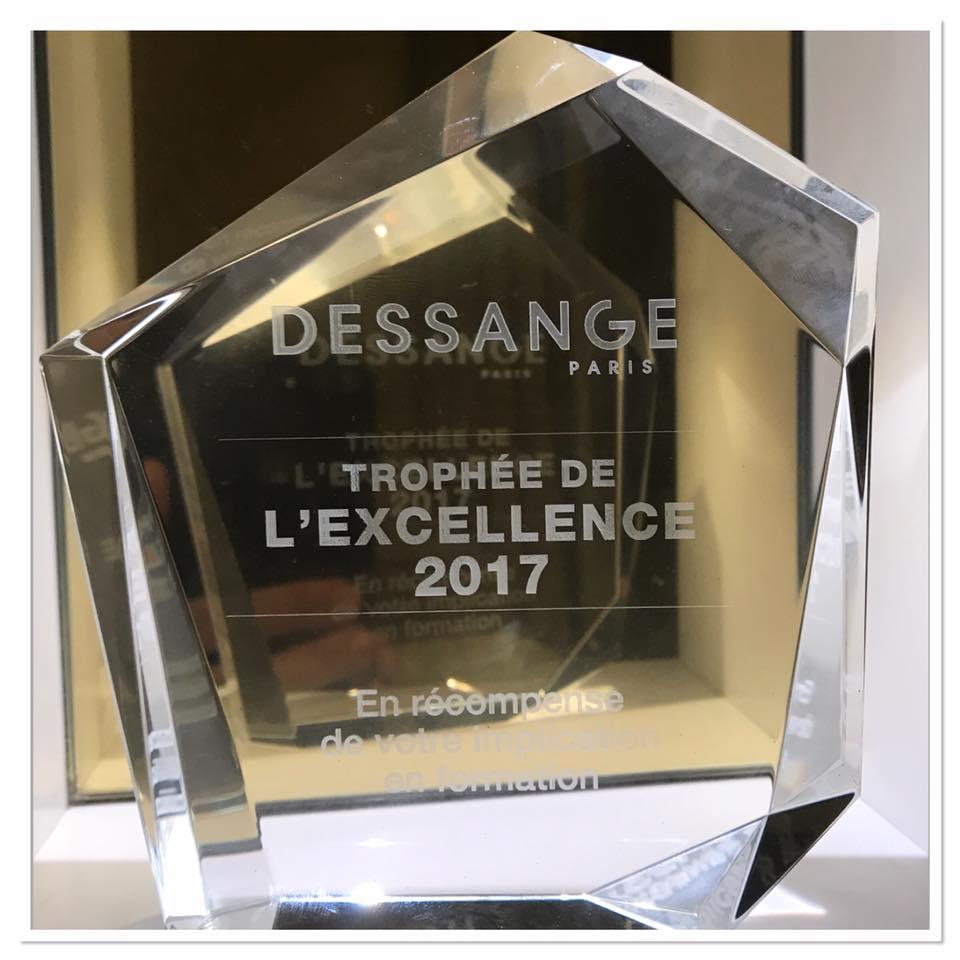 Trophée de l'excellence 2017 Dessange orléans