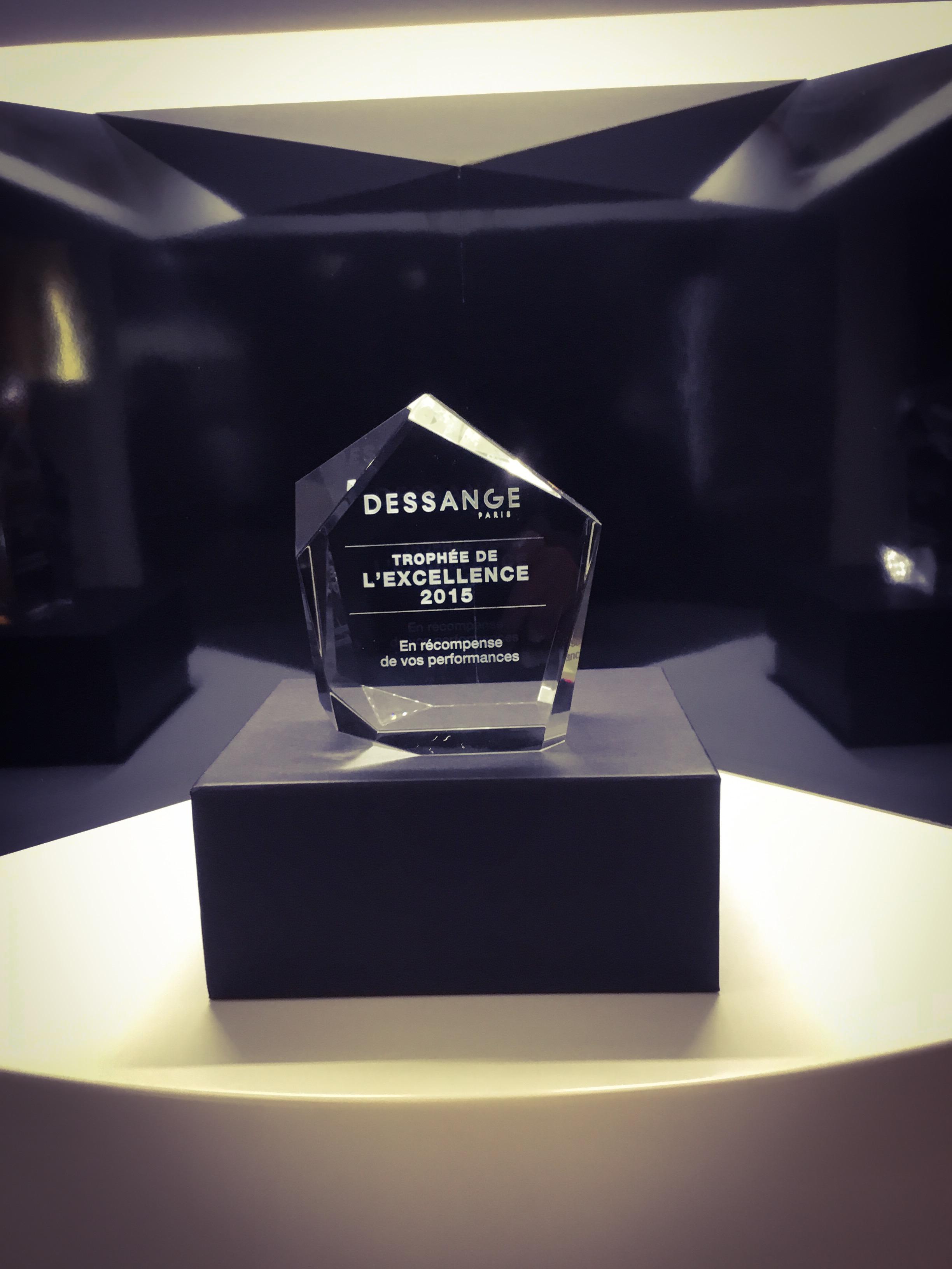 Trophée de l'Excellence 2015...
