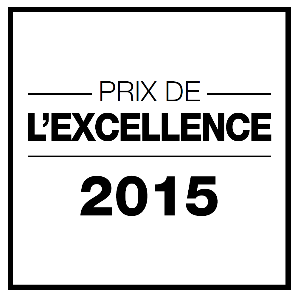Prix de l'excellence salon de coiffure Dessange Paris St Germain