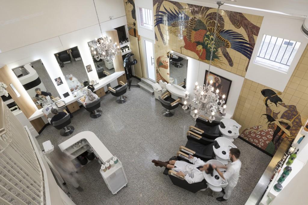 Salon de coiffure Paris 6 Saint-Germain   DESSANGE