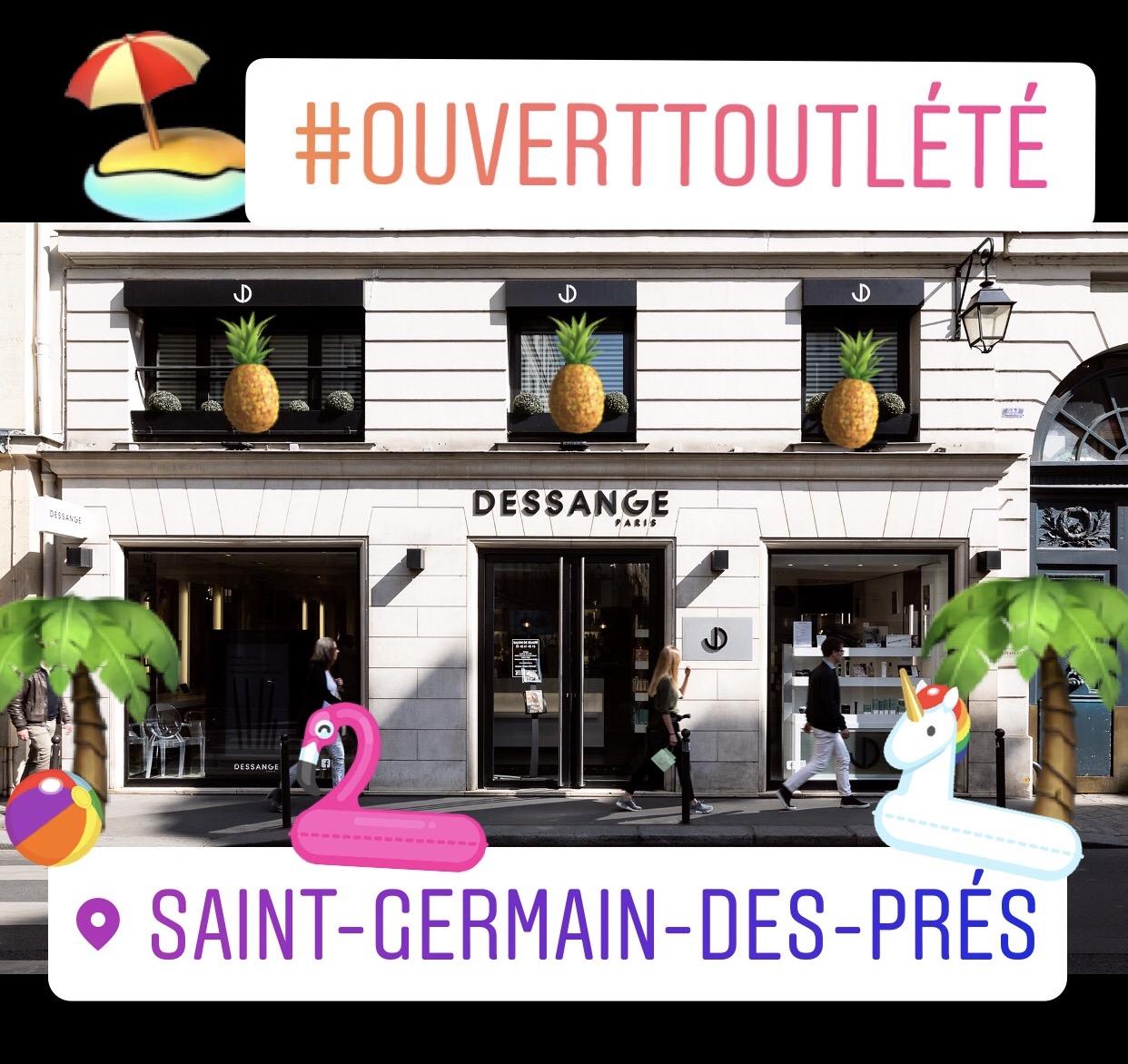 Ouverture été 2017 Salon Paris St Germain des prés