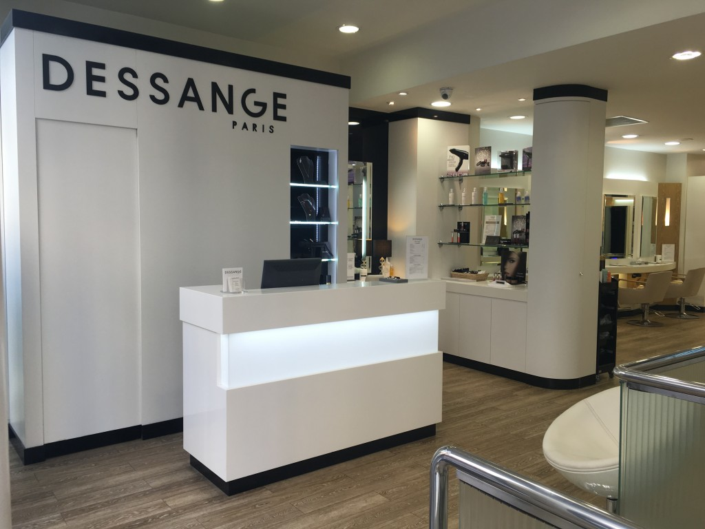 Salon de beauté - Dessange Paris Bastille