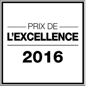 Prix de l'excellence 2016 salon de coiffure Dessange Paris Sebastopol