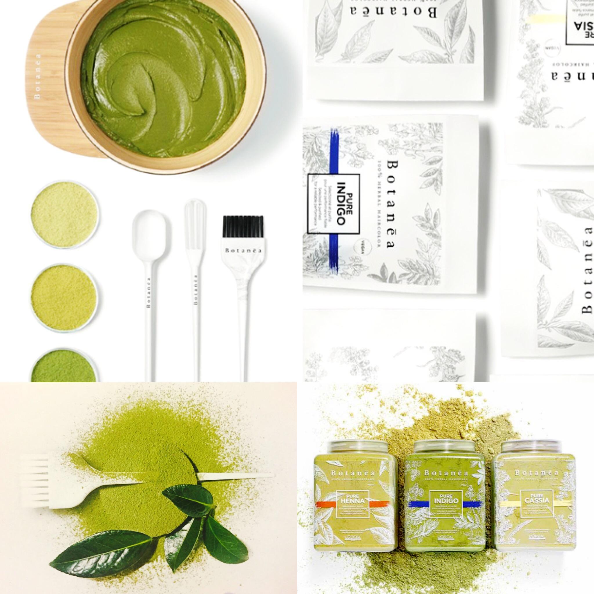 La coloration 100 v g tale botanea dessange sanary - Salon de coiffure coloration vegetale ...