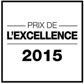 Prix de l'excellence 2015 salon de coiffure Dessange Tours