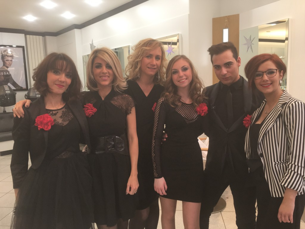 L'équipe du salon de coiffure Dessange Valenciennes Clémenceau